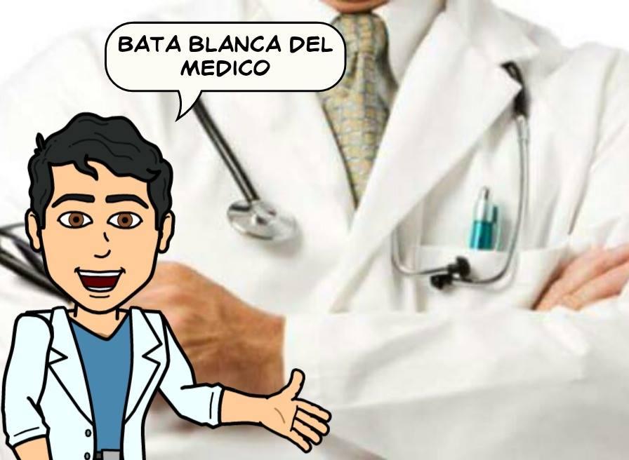 Que representa la bata blanca en el Médico